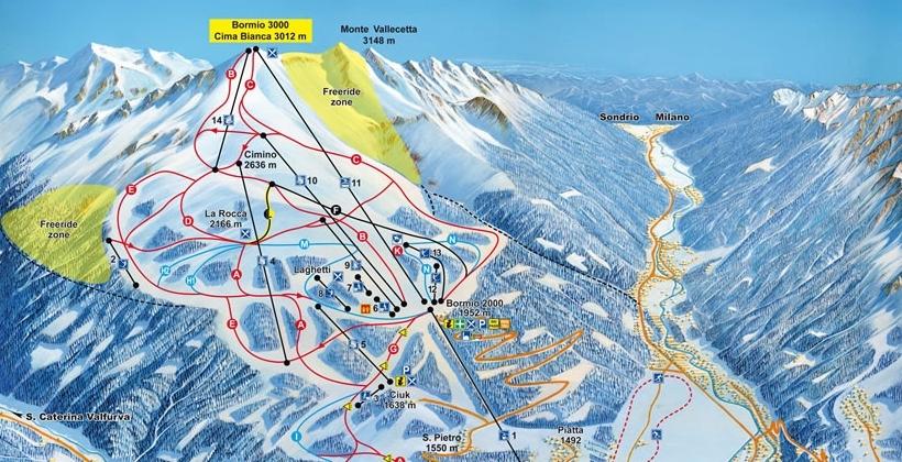 Ski area Alta Valtellina